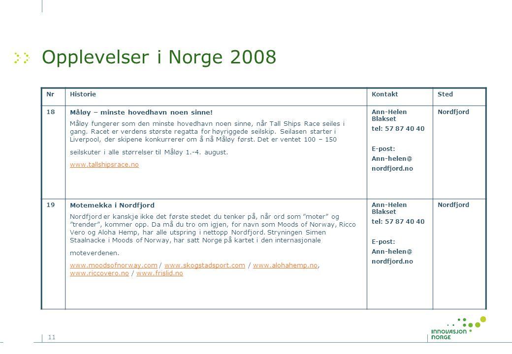 Opplevelser i Norge 2008 Måløy – minste hovedhavn noen sinne!