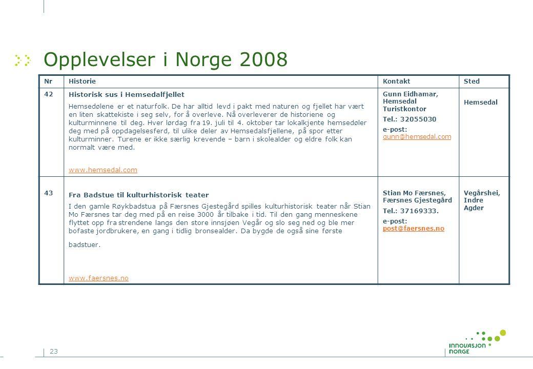 Opplevelser i Norge 2008 Historisk sus i Hemsedalfjellet