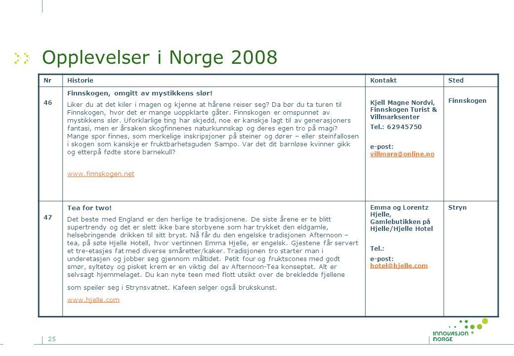 Opplevelser i Norge 2008 Finnskogen, omgitt av mystikkens slør!