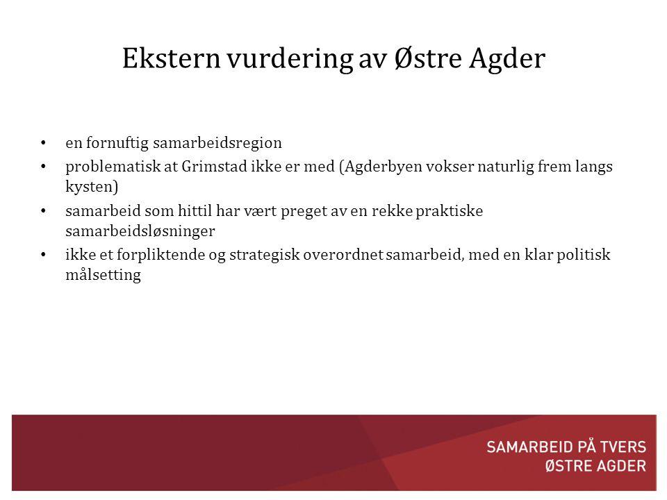 Ekstern vurdering av Østre Agder