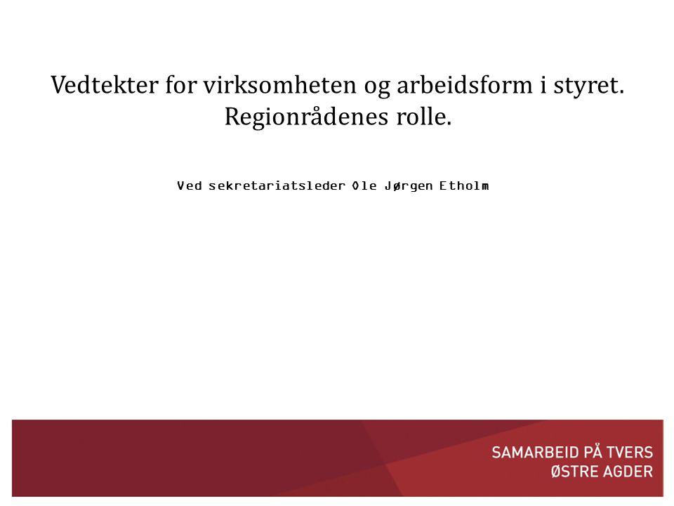 Ved sekretariatsleder Ole Jørgen Etholm
