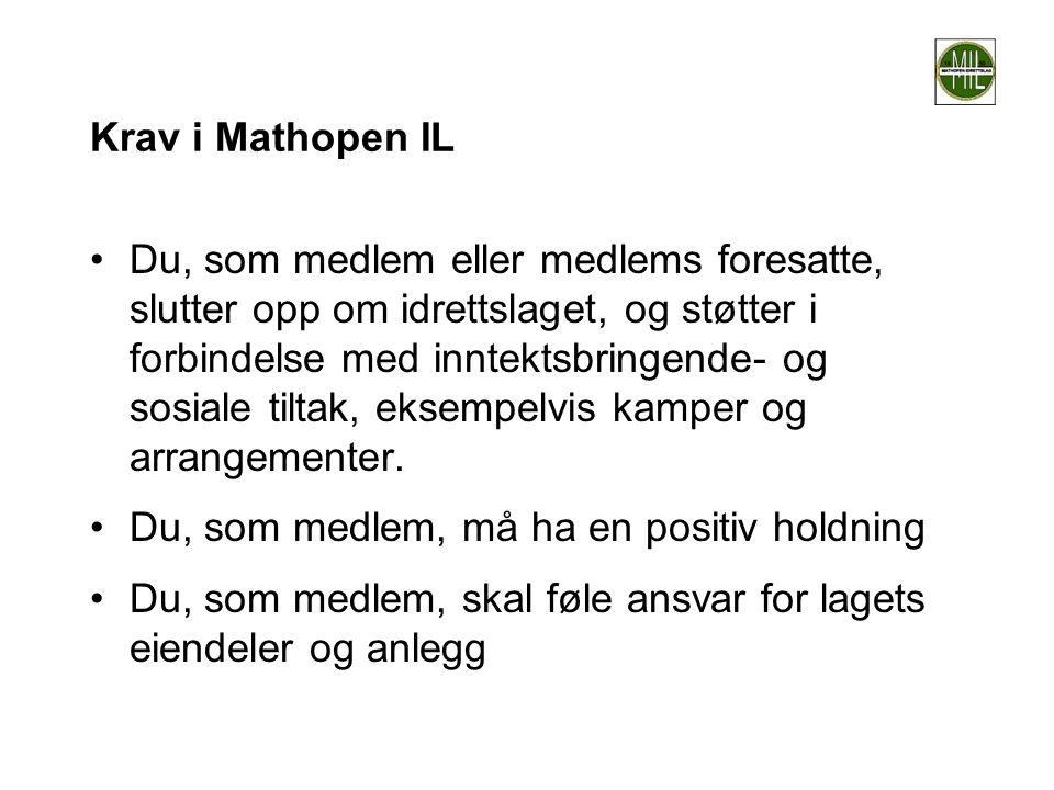 Krav i Mathopen IL