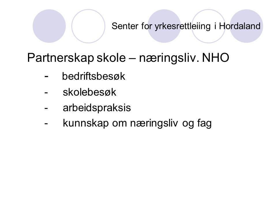 Senter for yrkesrettleiing i Hordaland