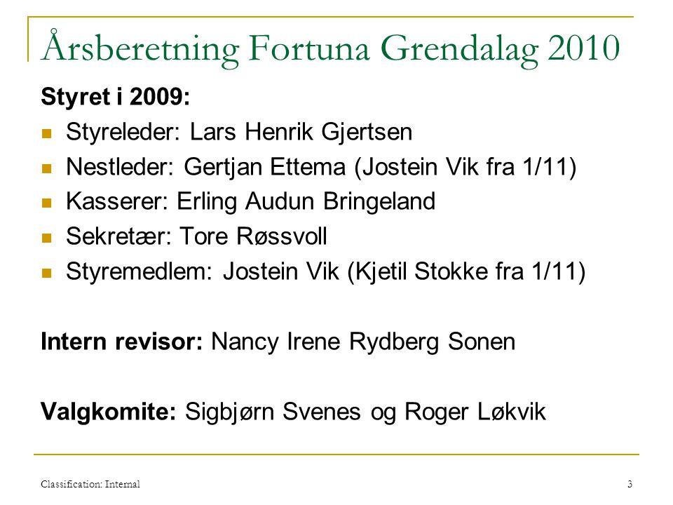 Årsberetning Fortuna Grendalag 2010