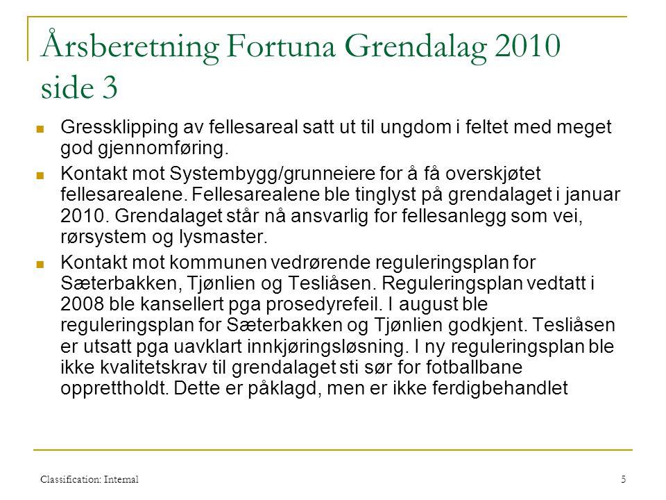 Årsberetning Fortuna Grendalag 2010 side 3