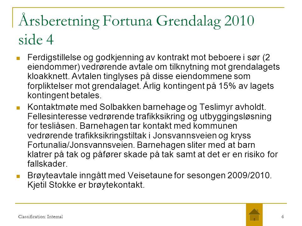 Årsberetning Fortuna Grendalag 2010 side 4