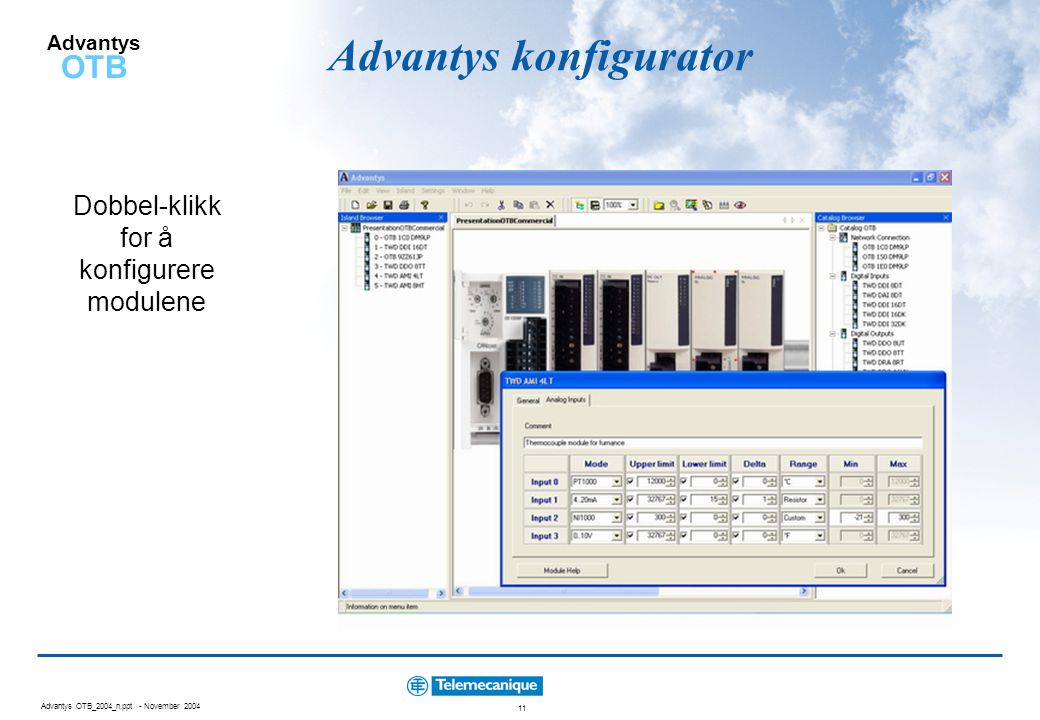Advantys konfigurator