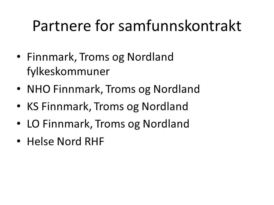Partnere for samfunnskontrakt