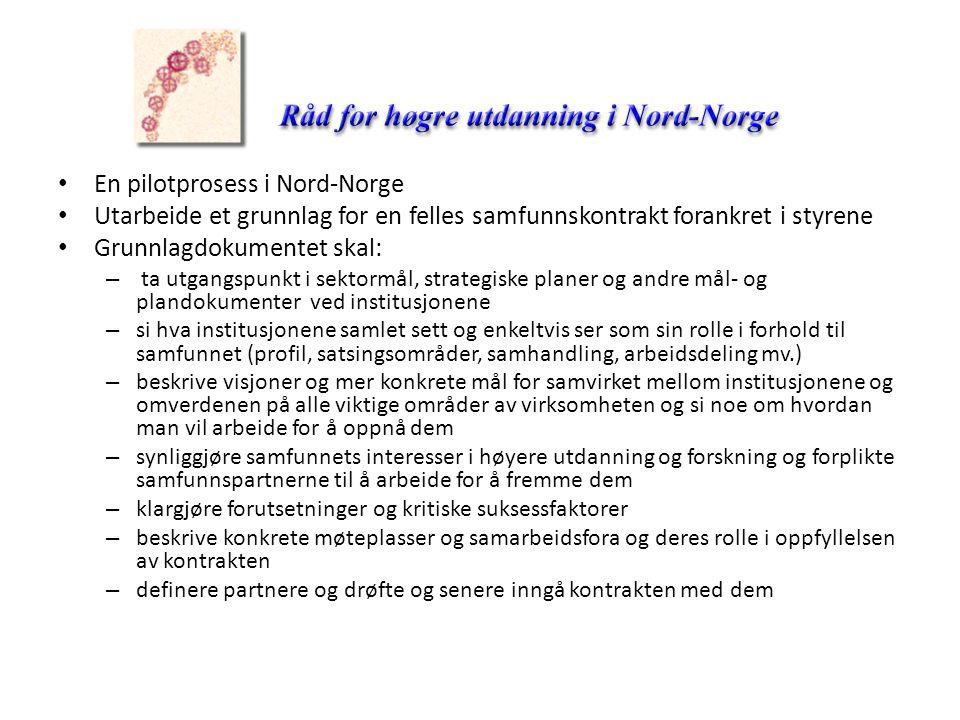 En pilotprosess i Nord-Norge