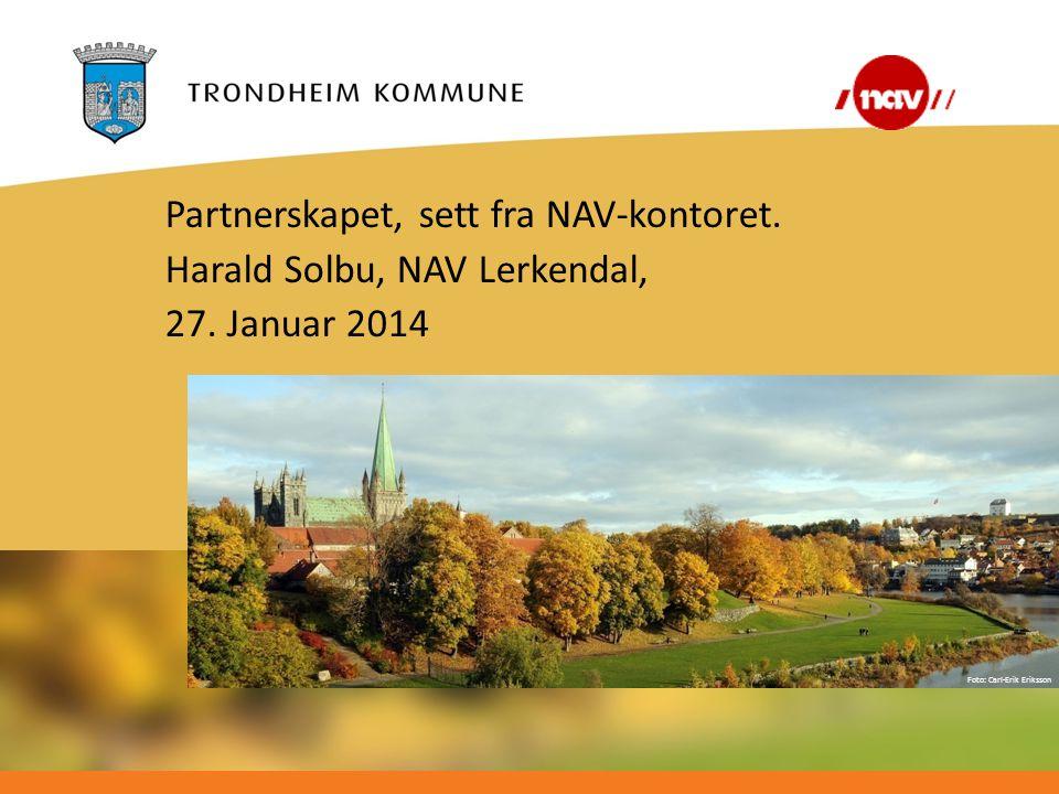 Partnerskapet, sett fra NAV-kontoret.