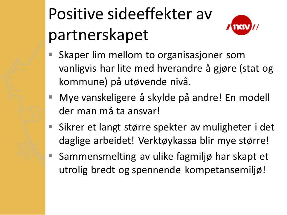 Positive sideeffekter av partnerskapet