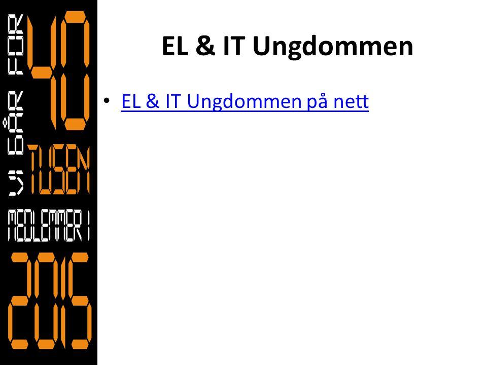 EL & IT Ungdommen EL & IT Ungdommen på nett