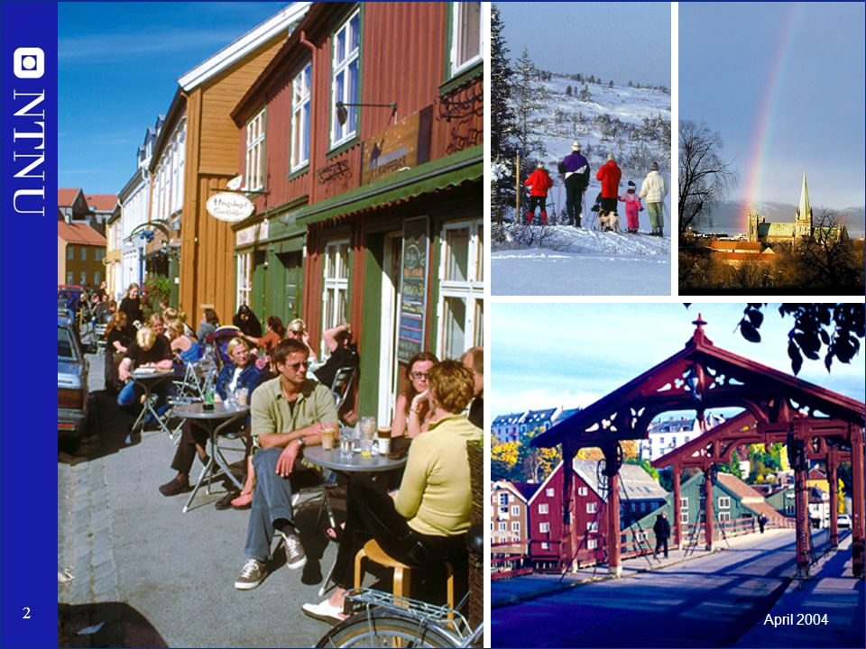 Left: Coffee shop at Bakklandet Photo: NTNU Info/Norsk Bildebyrå.