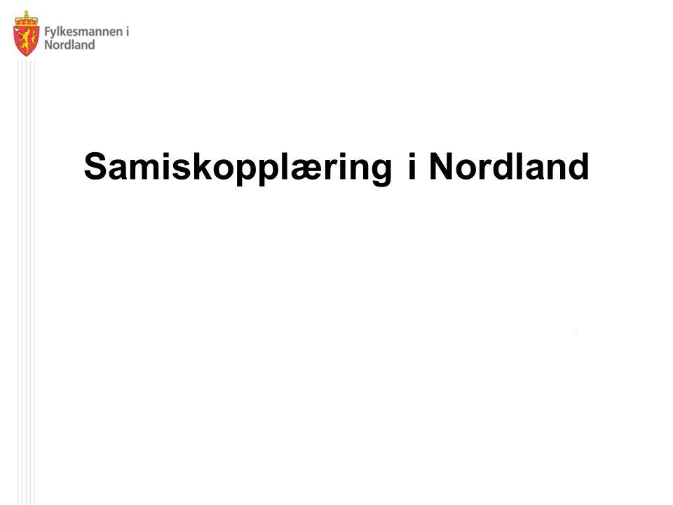 Samiskopplæring i Nordland