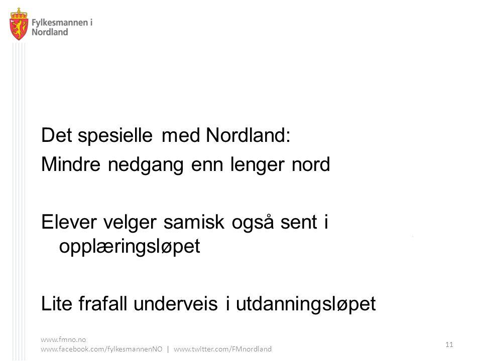 Det spesielle med Nordland: Mindre nedgang enn lenger nord