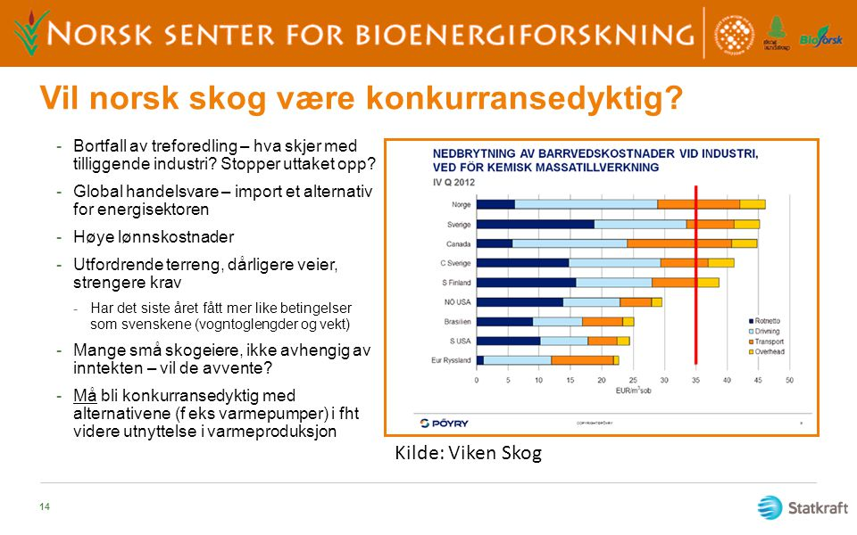 Vil norsk skog være konkurransedyktig