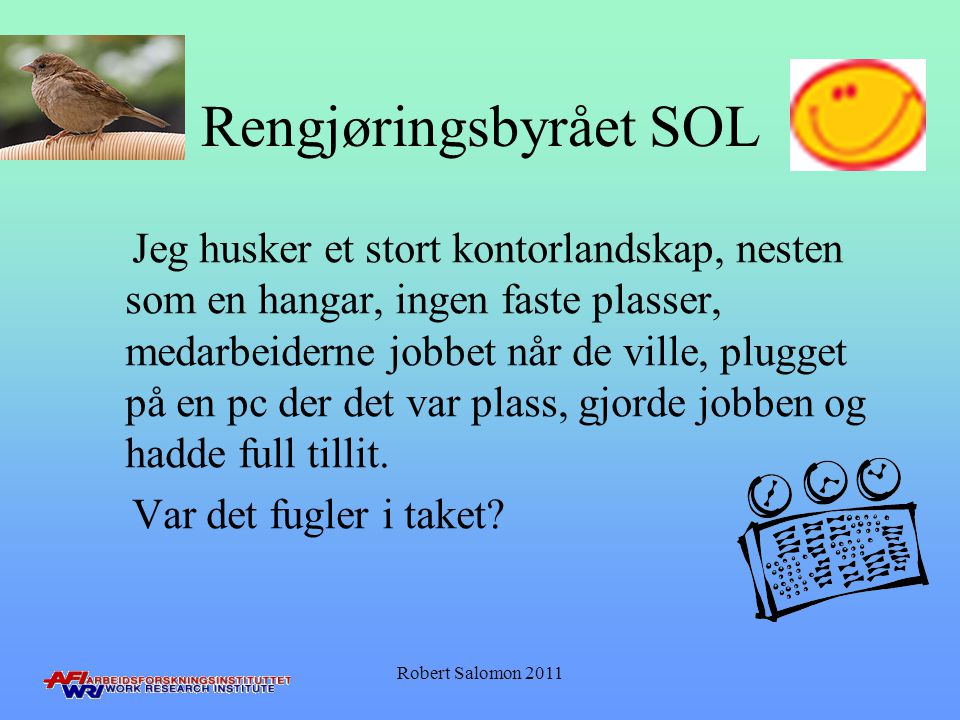 Rengjøringsbyrået SOL