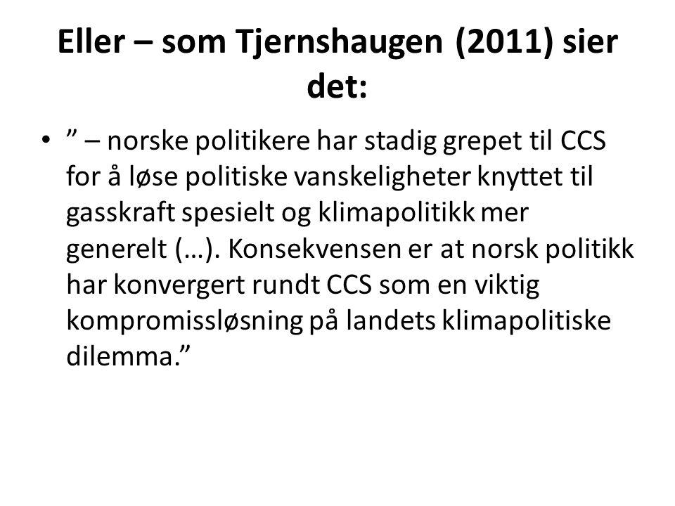 Eller – som Tjernshaugen (2011) sier det: