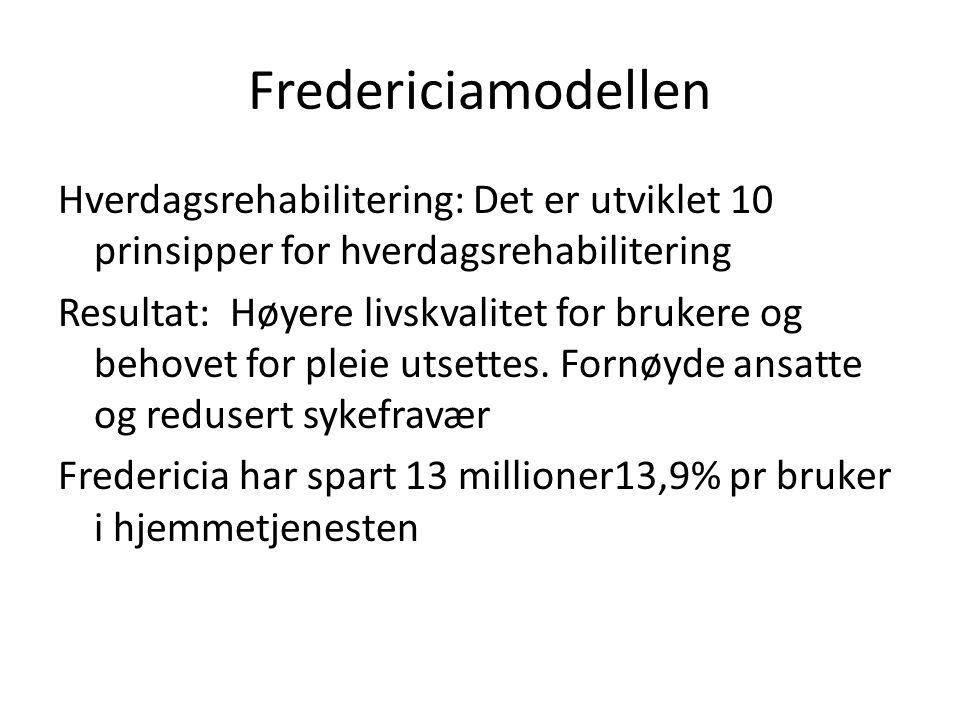 Fredericiamodellen