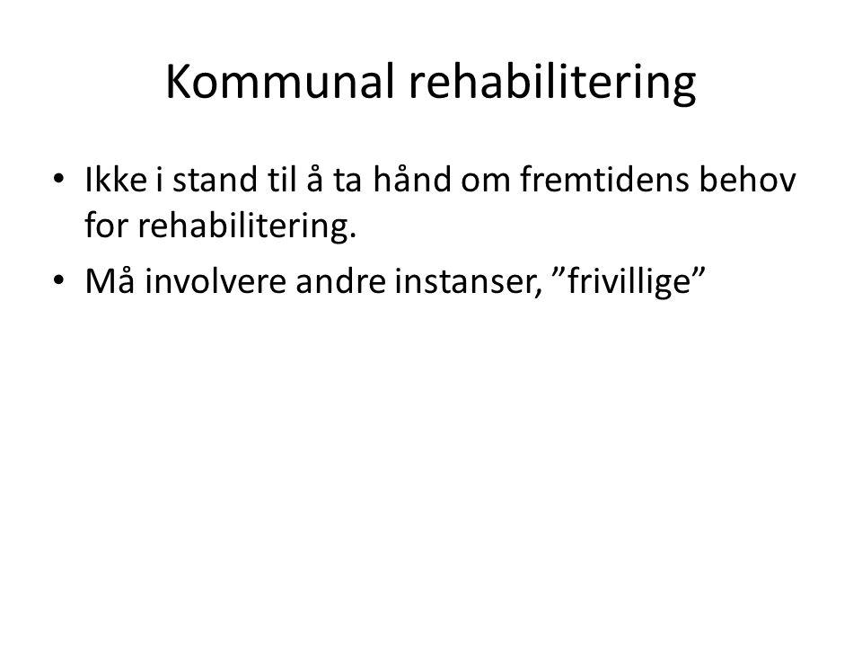 Kommunal rehabilitering