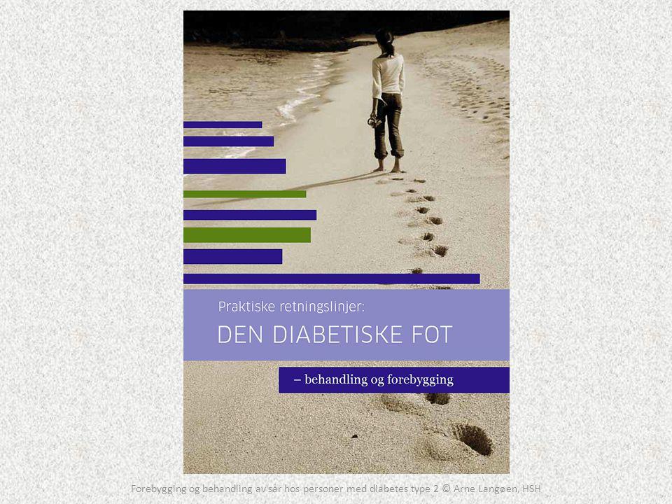 Forebygging og behandling av sår hos personer med diabetes type 2 © Arne Langøen, HSH