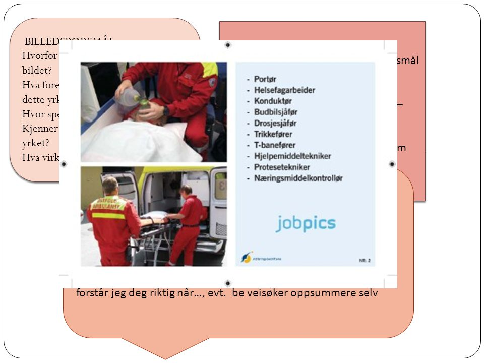 Jobpics består av 183 billedkort