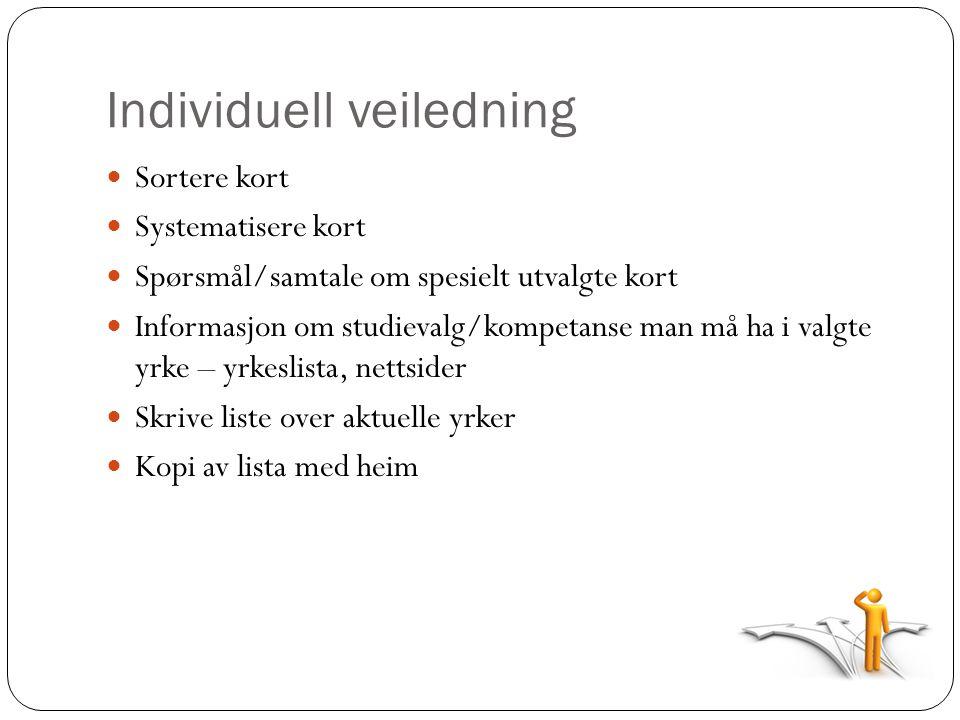 Individuell veiledning