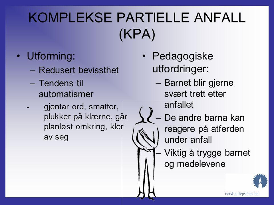 KOMPLEKSE PARTIELLE ANFALL (KPA)