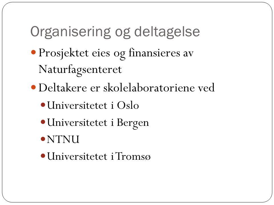 Organisering og deltagelse