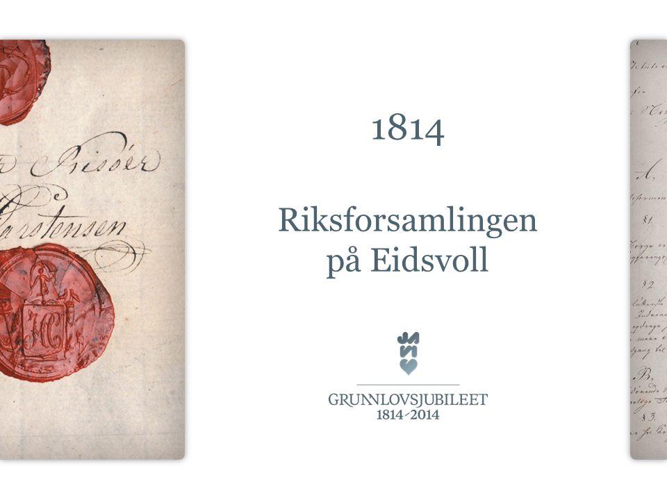 Riksforsamlingen på Eidsvoll