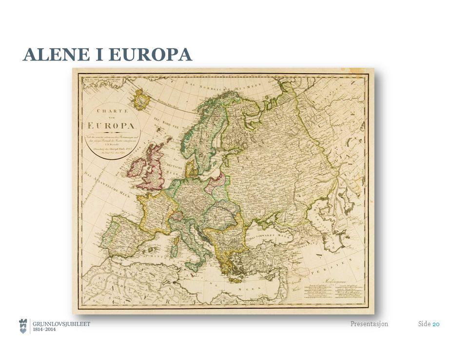 Alene i Europa