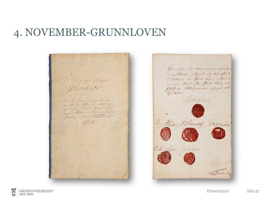 4. november-grunnloven