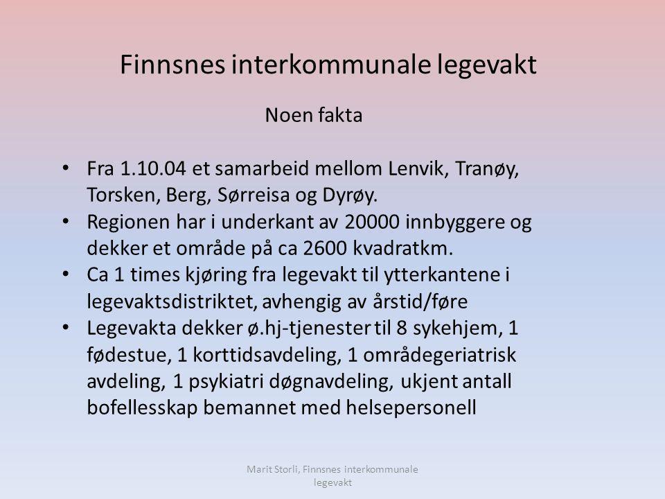 Finnsnes interkommunale legevakt