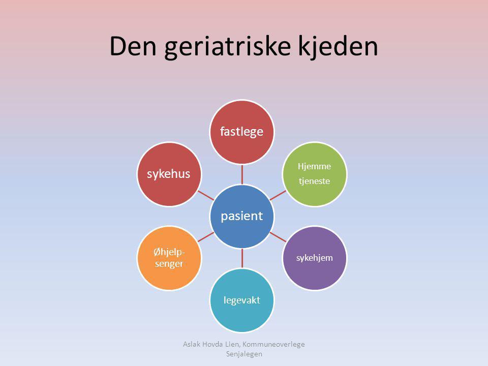 Den geriatriske kjeden