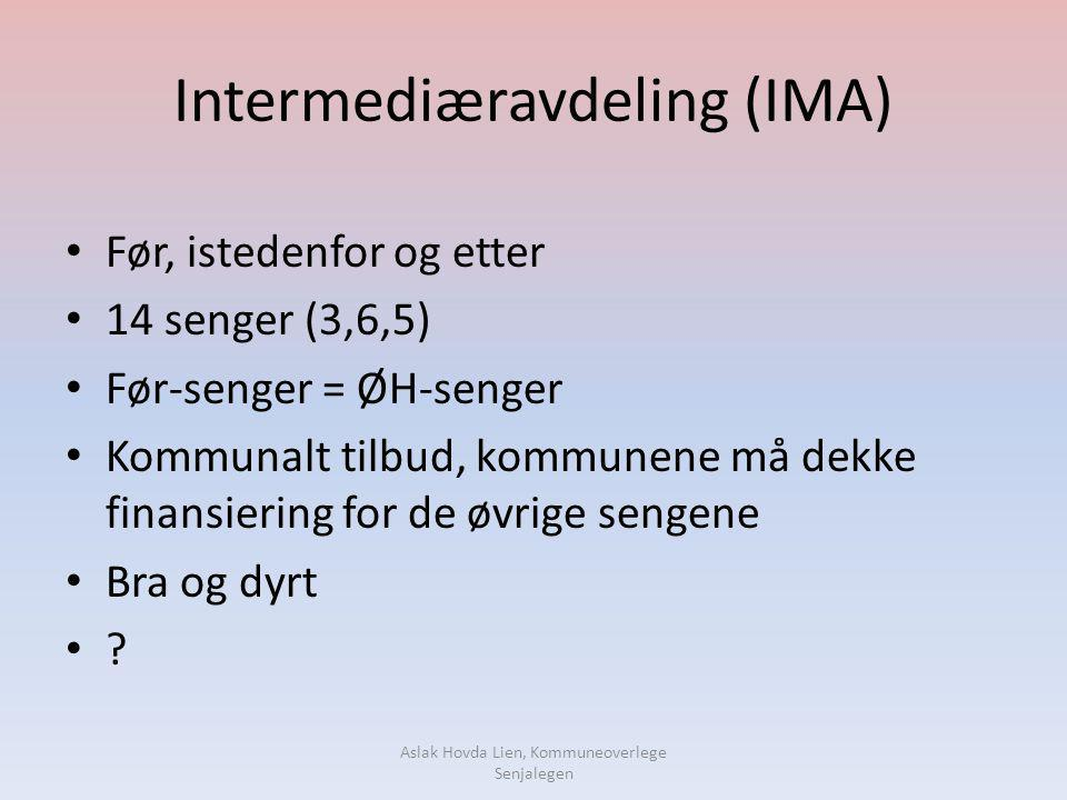 Intermediæravdeling (IMA)