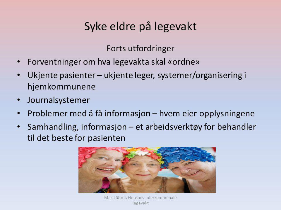 Marit Storli, Finnsnes interkommunale legevakt