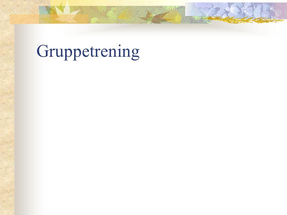 Gruppetrening