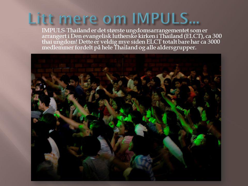 Litt mere om IMPULS...
