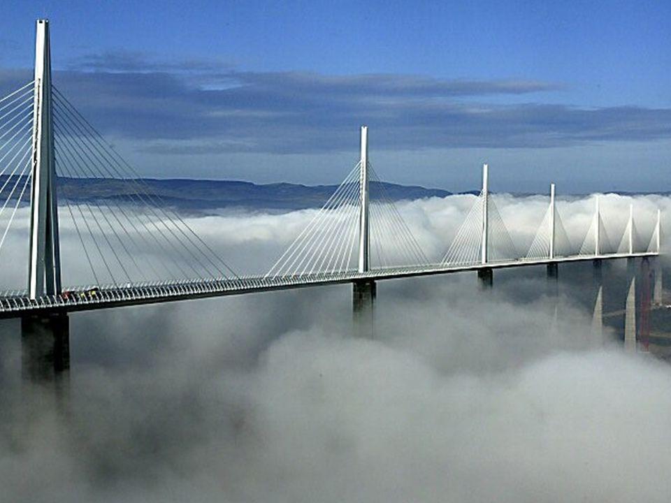 Millau-broen - Verdens høyeste skråstagbro