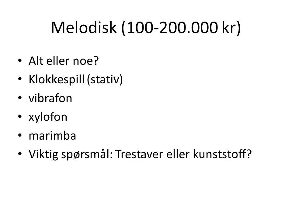 Melodisk (100-200.000 kr) Alt eller noe Klokkespill (stativ) vibrafon