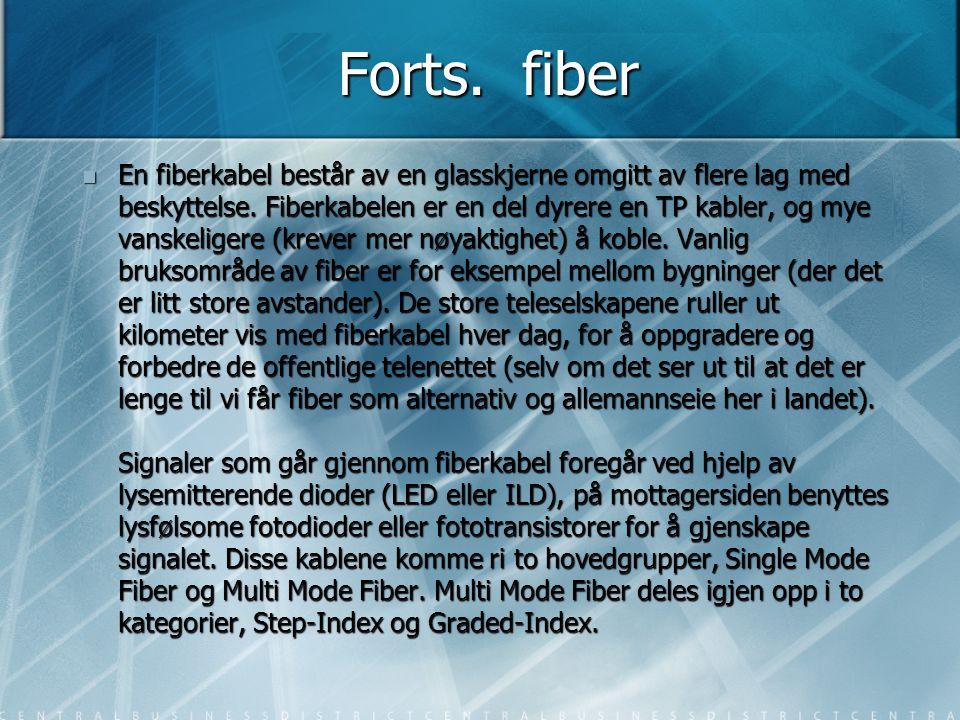 Forts. fiber