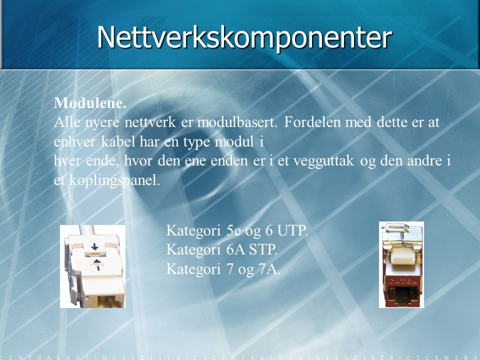 Nettverkskomponenter