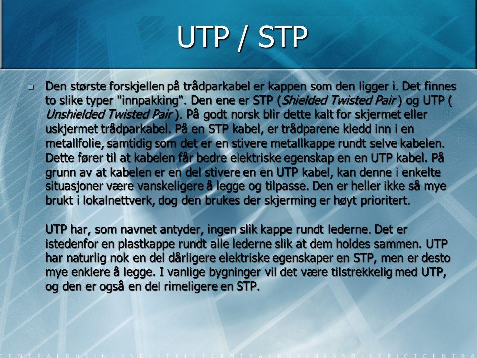 UTP / STP