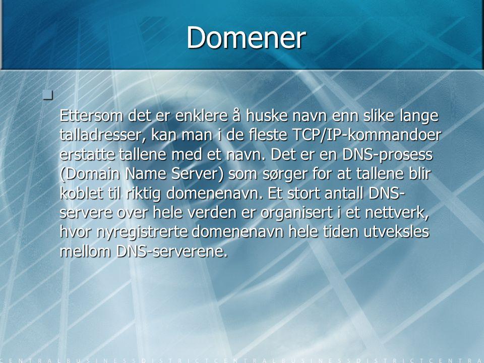 Domener