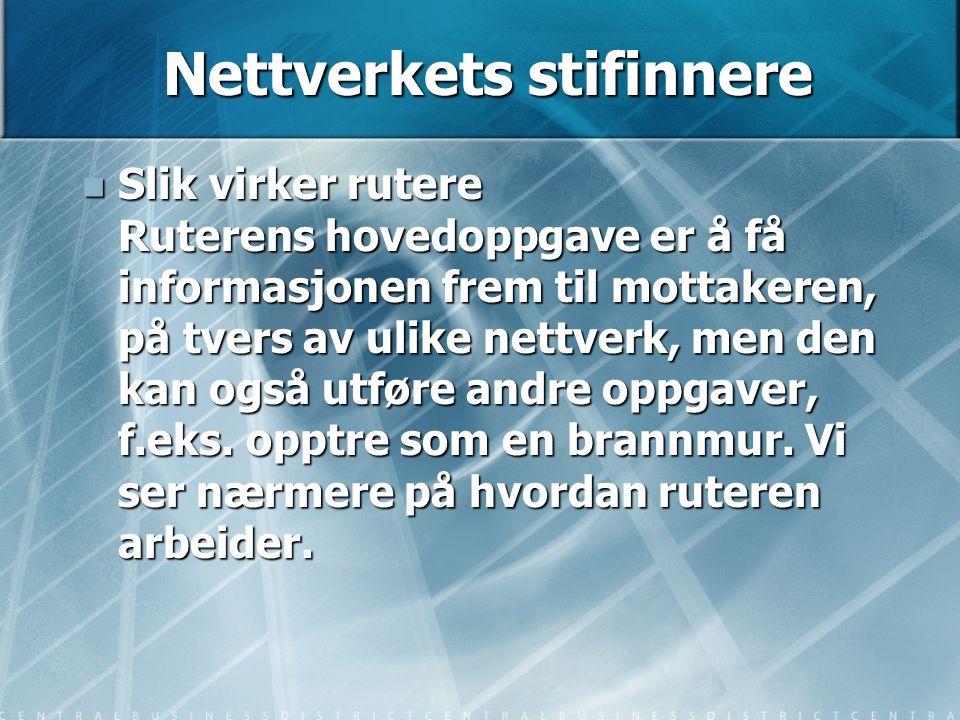 Nettverkets stifinnere