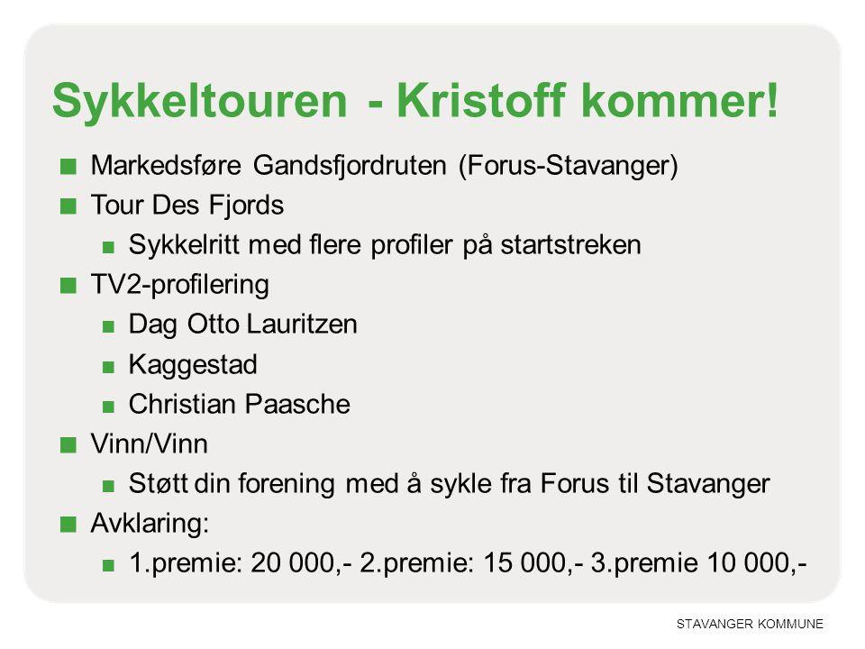 Sykkeltouren - Kristoff kommer!