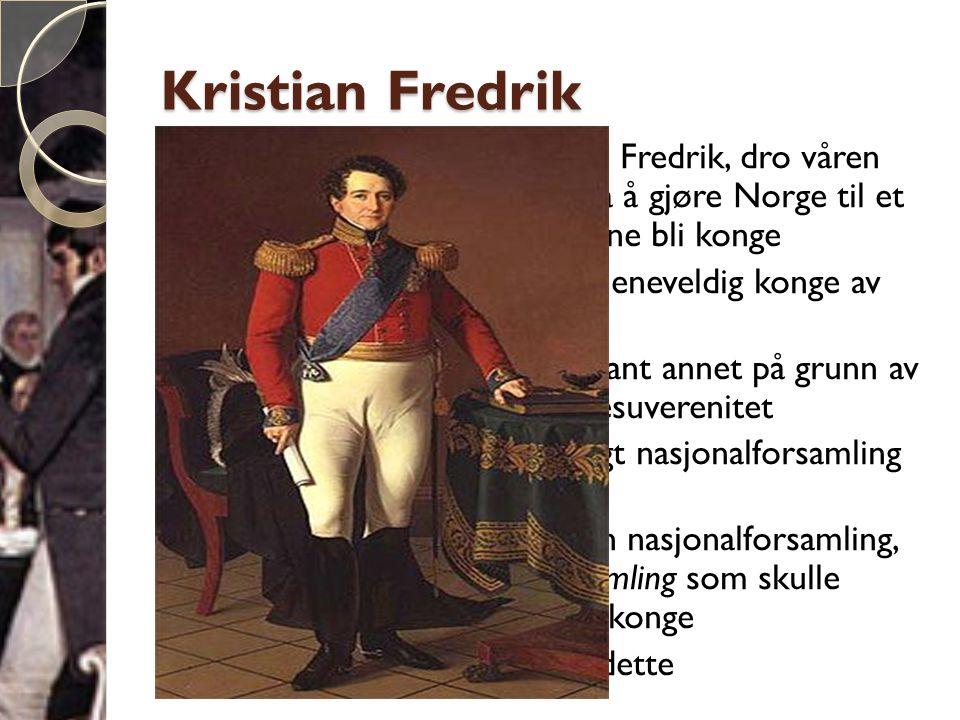 Kristian Fredrik