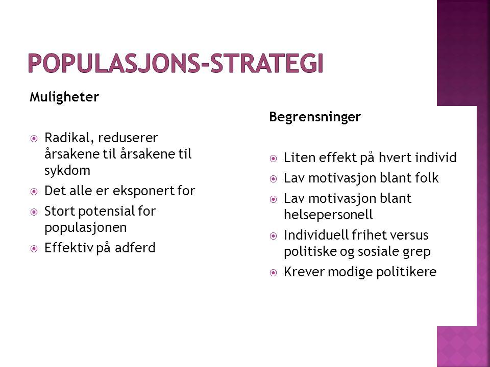 Populasjons-strategi