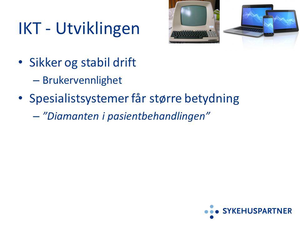 IKT - Utviklingen Sikker og stabil drift
