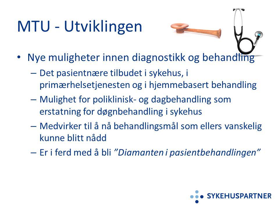 MTU - Utviklingen Nye muligheter innen diagnostikk og behandling